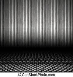 Corrugated Metal Backdrop