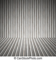 Corrugated Metal Interior