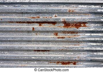 Corrugated Metal Texture