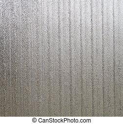 Corrugated sheet of metal