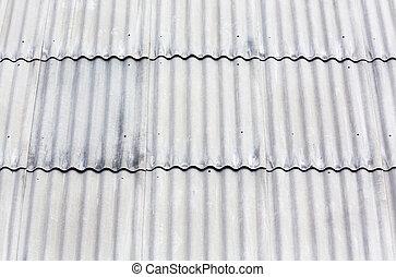 corrugato, amianto, tetto