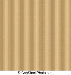 corrugato, fondo., cartone, seamless
