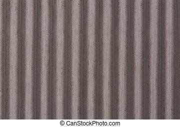 corrugato, piastrella, verticale, tetto