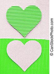 corrugato, verde