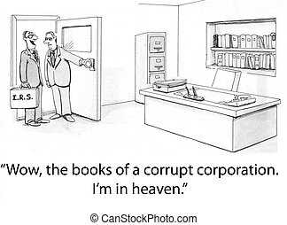 corrupt, irs