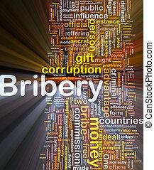 corruption, concept, incandescent, fond