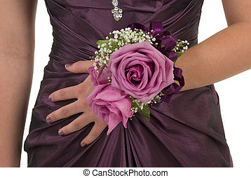 Prom or wedding corsage