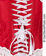 corset isolated on white