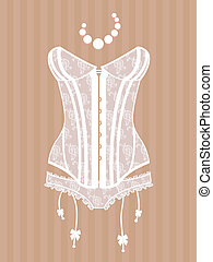 corset, vendange