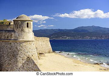 Corsica, France at Citadel Miollis - Corsica, France Citadel...