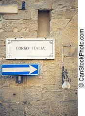 corso, italia