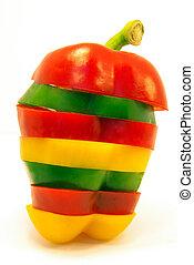 cortado, pimenta