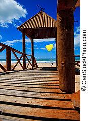 Cortadura\'s Beach - Cádiz - Footbridge of access to...