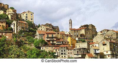 Corte - impressive medieval town in Corsica - View Of Corte...