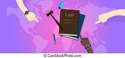 corte, justiça, global, legal, internacional, gavel, mundo, lei
