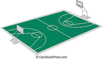 corte pallacanestro