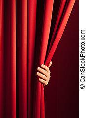 cortina, apertura