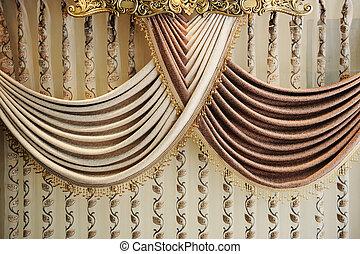 cortina, moderno
