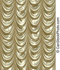 cortinas, ouro