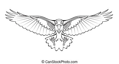 corvo, voando