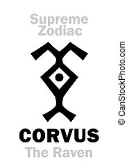 corvus, --, 最高, astrology:, raven), フェニックス, (the, zodiac: