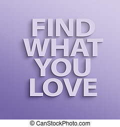 cosa, amore, trovare, lei