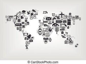 cose, globale, iot, internet