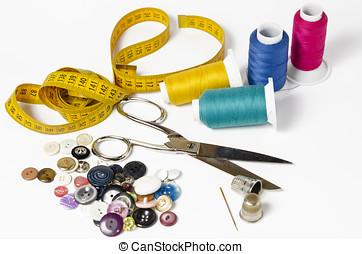 cosendo, utensílios