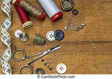 coser hilo