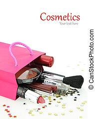 cosméticos, celebración