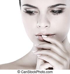 cosméticos, emoções