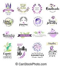 cosméticos, señales, belleza