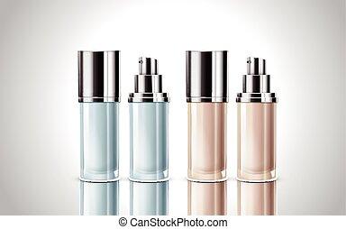 cosmetic bottle models