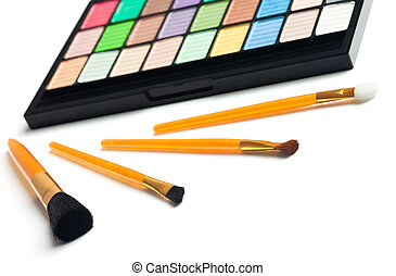 Cosmetic colorful palette