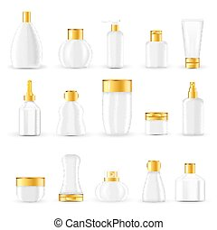 Cosmetic Packaging Design Set - Cosmetic packaging design...