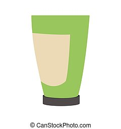 cosmetic plastic bottle icon