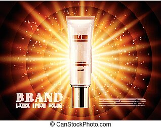 Cosmetic product ads