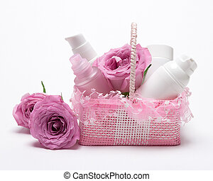 Cosmetic products as gift for girlfriend