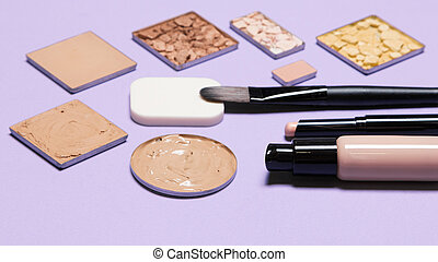 Cosmetic products for corrective makeup