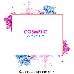 cosmetic promotion frame