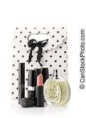 Cosmetic set and bag