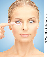 cosmetic surgery - picture of beautiful woman ready for...