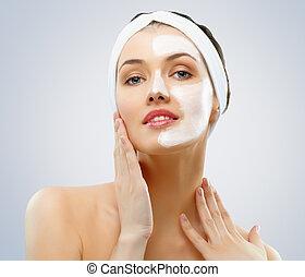 cosmetico, maschera