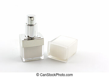 Cosmetics bottle, packaging. - Cosmetics bottle, packaging...