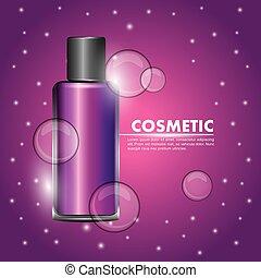 cosmetics bottle skincare