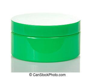Cosmetics cream in jar