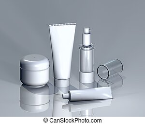 cosmetics II - Cosmetics for logo presentation or other ...