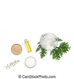 cosmetics., production, ingrédients, naturel