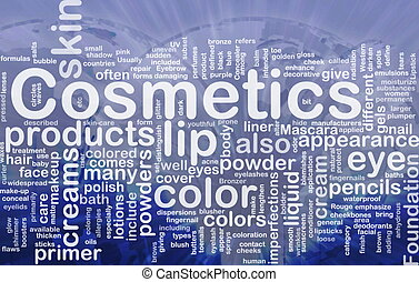 Cosmetics products background concept - Background concept...