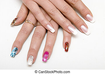 Cosmetology - To look after nails - it is very important for...